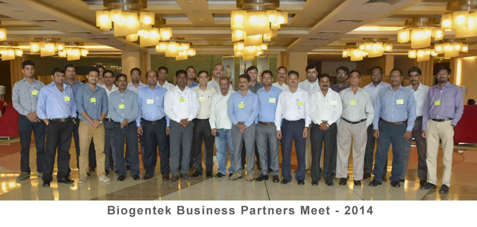 Biogentek Business Partners Meet - 2014